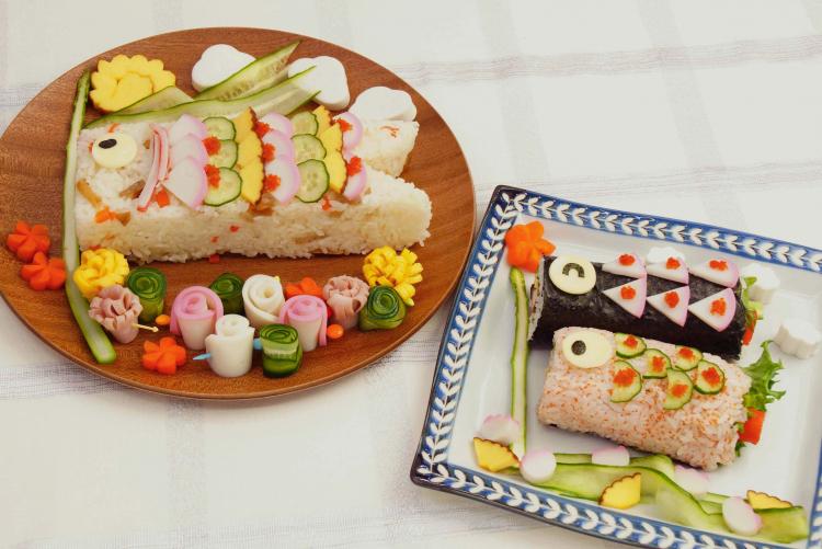 5月5日こどもの日に喜ばれる!簡単「こいのぼりデコ寿司」の作り方