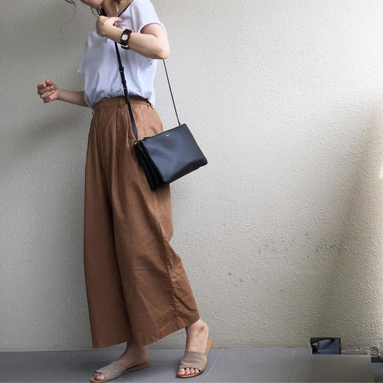 「GU」「ZARA」etc.涼やかでおしゃれな大人のワイドパンツコーデ【kufuraファッション調査隊】