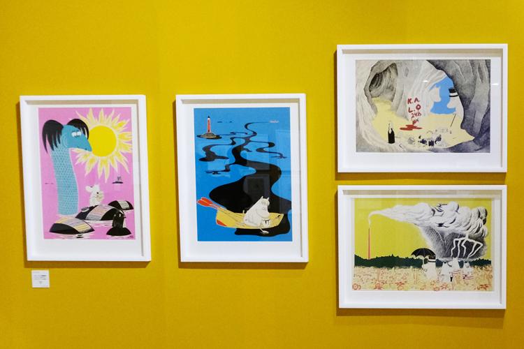 子どもと都内のムーミンワールドへ!フィンランド生まれの人気者「ムーミン展 THE ART AND THE STORY」【子どもと楽しむ美術展#5】