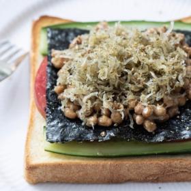 「カリカリじゃこの納豆トースト」食感も味わいも…重ねて大満足!松田美智子の本当においしい朝ごはん#2