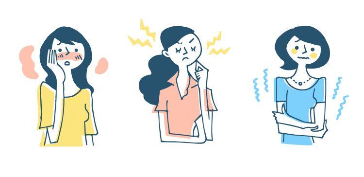 女性が閉経後に、のぼせや発汗に悩まされるのはなぜ?