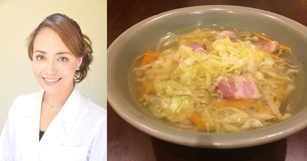 野菜不足をこの1品で解消 「せん切りキャベツのポトフ風スープ