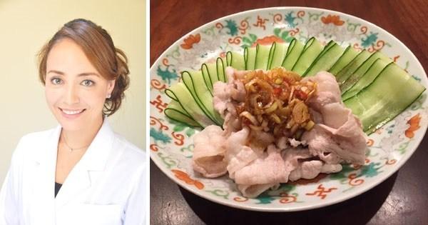 ピーラーで簡単にひらひら「きゅうりと豚肉の中華冷菜」