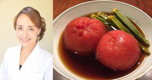 大迫力のうま味たっぷりレシピで活性酸素を撃退「トマトのお浸し」