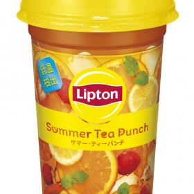リプトンから果汁たっぷりのフルーツティー新登場!6月25日からローソンで先行発売