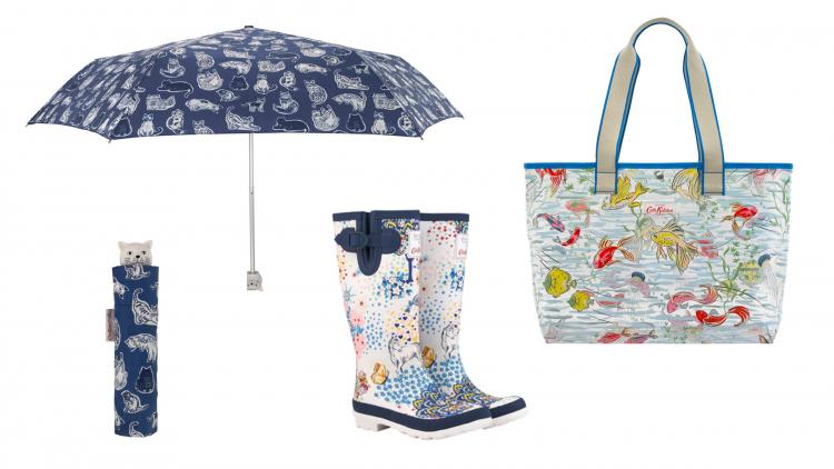 雨の街生まれ!キャス キッドソンの「ハッピーレイングッズ」なら雨の日も楽しい