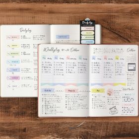 付箋に書くだけで、よい習慣を続けられるようになりました!ミドリの「ジャーナル ハビット」【kufura編集部員の、これイイ!】