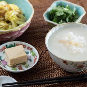 干し貝柱のうま味が…神ワザ!「冷ごはんの中華がゆ」 松田美智子の本当においしい朝ごはん#3