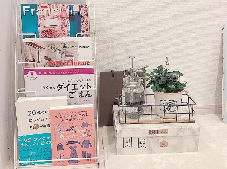 スッキリおしゃれにまとめる!「雑誌」の上手な収納術【kufura収納調査隊】vol.68