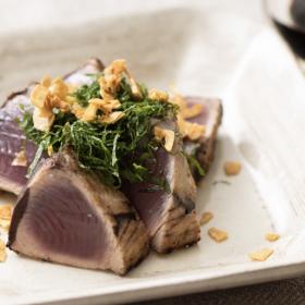 「かつおのステーキ」お粉の工夫でうま味をギュッ!松田美智子のサカナが食べたい!#1