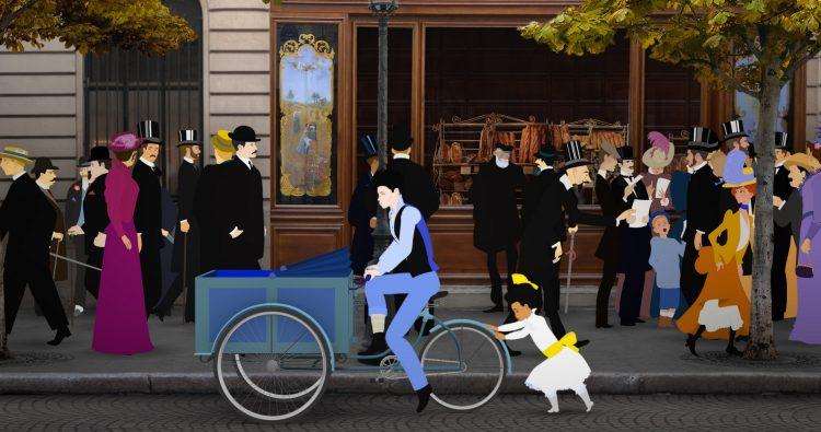 黄金時代のパリにトリップ!華やかで深いフレンチアニメ「ディリリとパリの時間旅行」は大人に近づく子どもと観たい