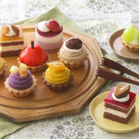 秋の実りを詰め込んだ9個入りプチケーキセットが銀座コージーコーナーから限定発売