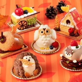 手土産にもおすすめ!ユーハイムよりマイスターケーキ「小さな秋の暮らし」が限定発売