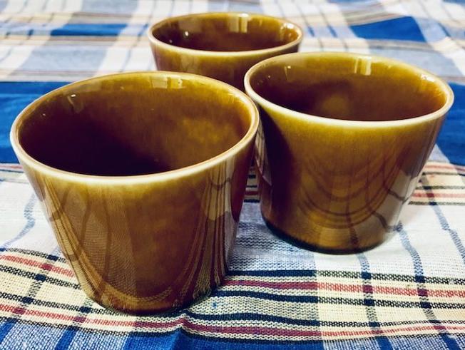 カル:エクレ フリーカップ(飴釉)