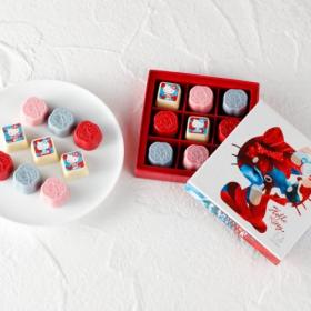 「花椿チョコレート」資生堂パーラー、ハローキティ、M / mika ninagawaとの華麗なるコラボ第3弾発売