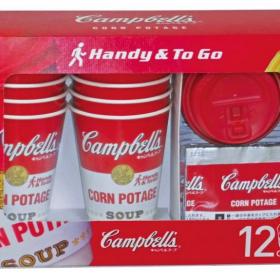 コストコ限定発売!キャンベルのインスタントコーンポタージュに便利なカップ付きが登場