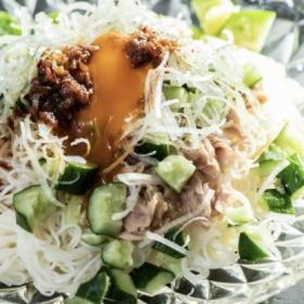 つるっと極上ワンプレート朝食「梅とツナのぶっかけそうめん」松田美智子の本当においしい朝ごはん#5