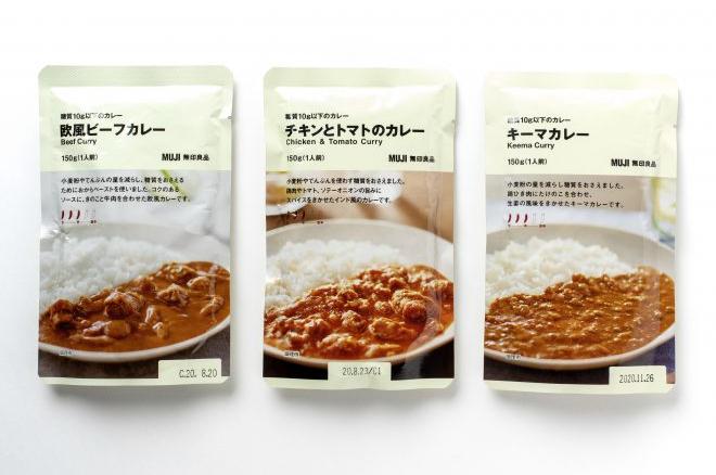 無印良品の「糖質10g以下のカレー」全3種を食べ比べ座談会!kufura編集部のランキングは…?