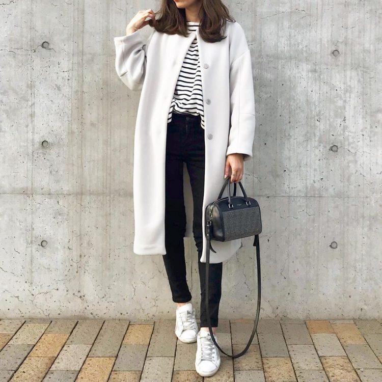 大人の「秋冬スニーカーコーデ」はリラックス感ある着こなしで【kufuraファッション調査隊】