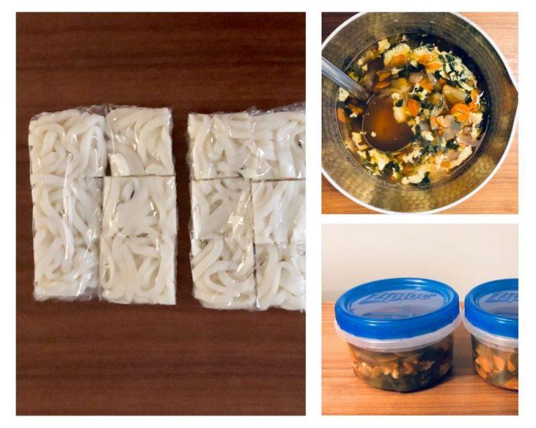 子どもの野菜不足解消うどん!「野菜たっぷりスープを冷凍ストック」で、らくらく手作り