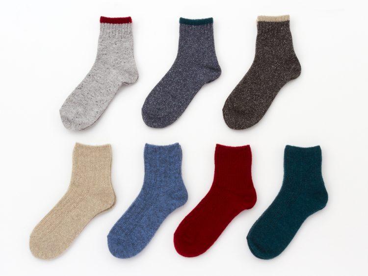 インテリアショップKEYUCAで人気の日本製靴下に新作33種類が追加発売