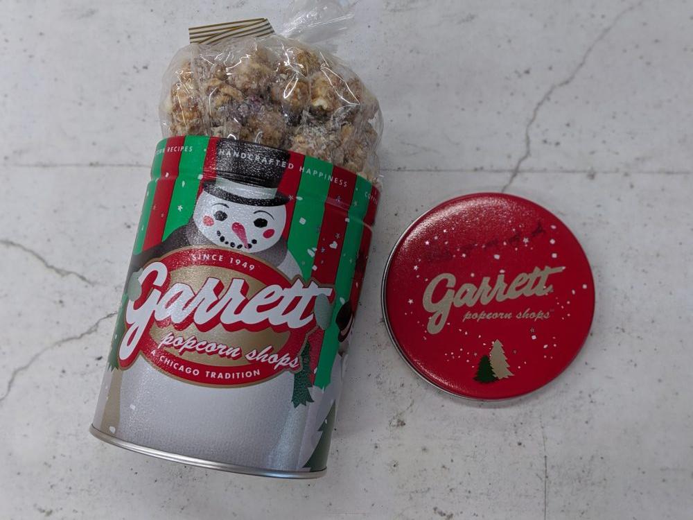 「ギャレット ポップコーン」のホリデー限定「スノーホワイトピスタチオ」味を試食!