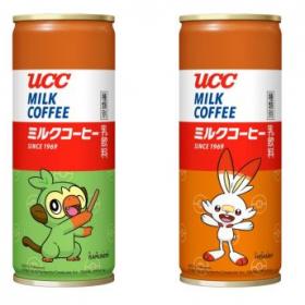 「UCC ミルクコーヒー」にポケモン缶が登場!ピカチュウなど計4種類のポケモンがゲットできる