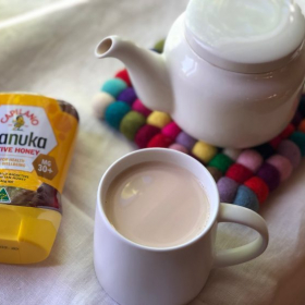 生バナナで作るミルクティーも人気です。わが家の定番「冬のホットドリンク」レシピ4つ