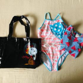 おとなスヌーピーが可愛い!「子連れ旅」に便利なPVCバッグ、見つけました!【kufura編集部日誌】