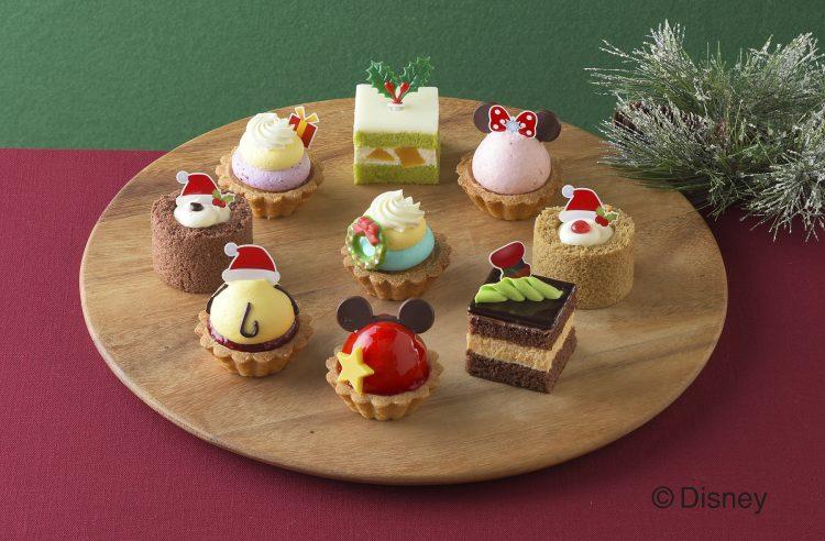 ディズニー ツムツムの「クリスマス限定プチケーキセット」銀座コージーコーナーから発売
