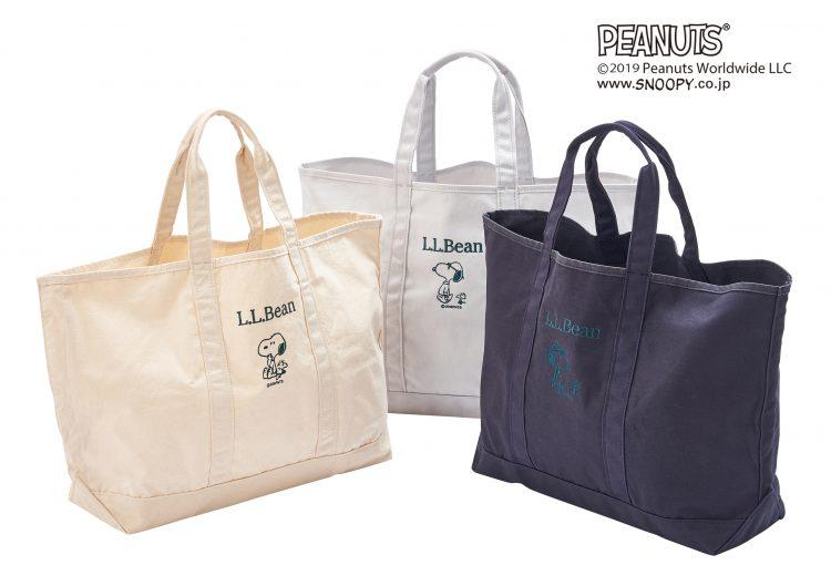 L.L.Beanのグローサリー・トートにピーナッツデザインが登場!PLAZA オンラインストアにて先行予約開始