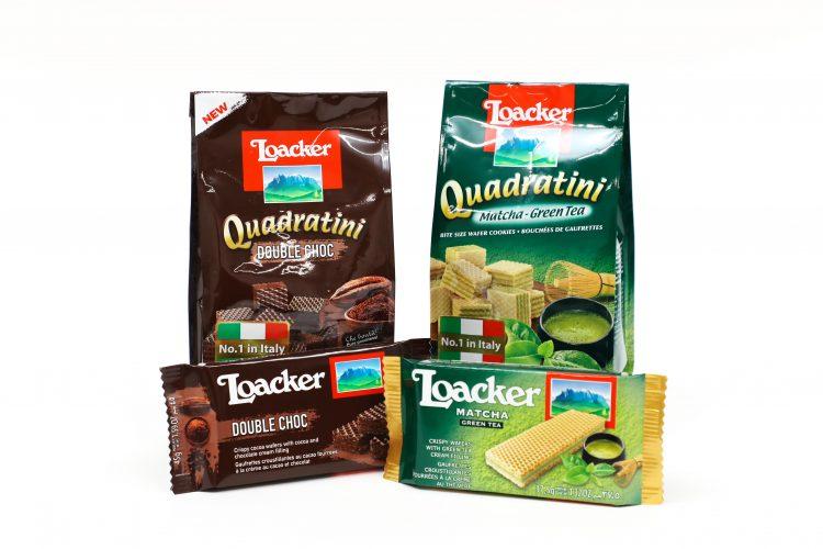人気ウエハースブランド「Loacker」の新フレーバー「ダブルチョコ」と「抹茶」、もう食べた?