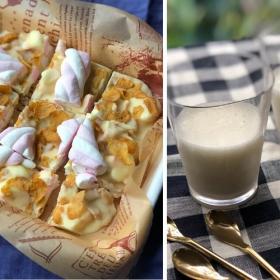 「マシュマロ」を使った2つの簡単おやつ。冬休みに子どもと一緒に作りたい!