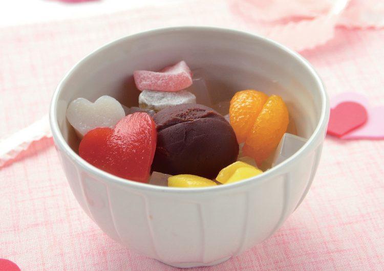 今年のバレンタインは和菓子で差をつける!? 船橋屋「ショコラあんみつ」期間限定発売