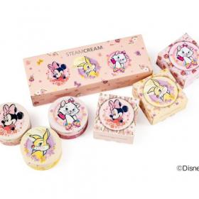 ミス・バニー柄も!ディズニーキャラクターを集めたmini缶セットが「スチームクリーム」から限定で登場