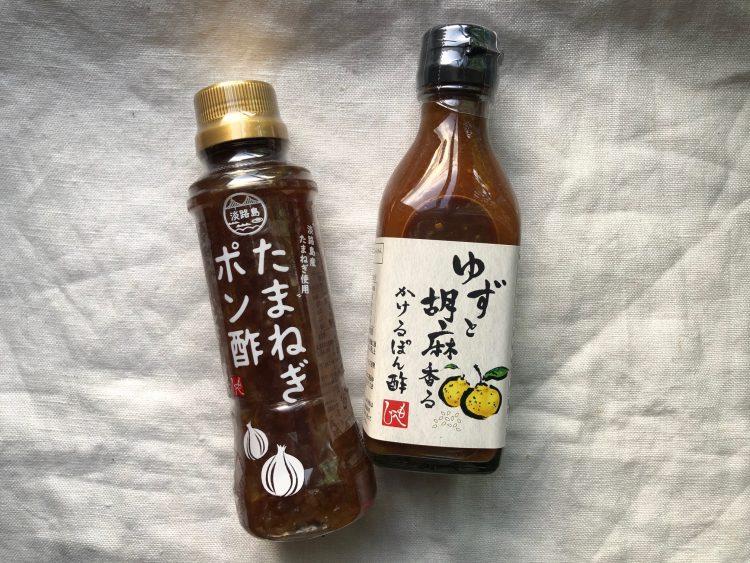カルディ ドレッシング もへじ 淡路島たまねぎポン酢 もへじ ゆずと胡麻香るかけるポン酢