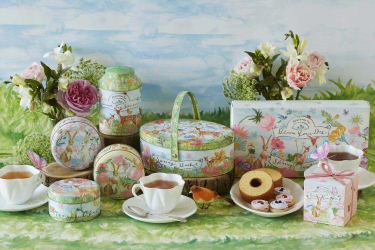 ホワイトデーにも!「Afternoon Tea」から春のお茶やスイーツのギフトが登場