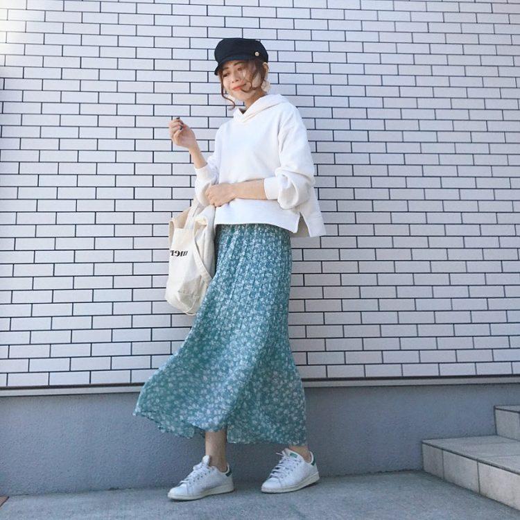 ママカジュアルの強い味方!パーカーの着こなしを大調査【kufuraファッション調査隊】