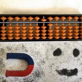 砂鉄集め、そろばん…「臨時休校中」こそ100均グッズでアナログ遊びをしてみました【kufura編集部日誌】