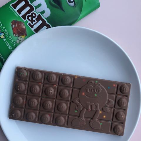 M&Mチョコレートバー クリスピーミント