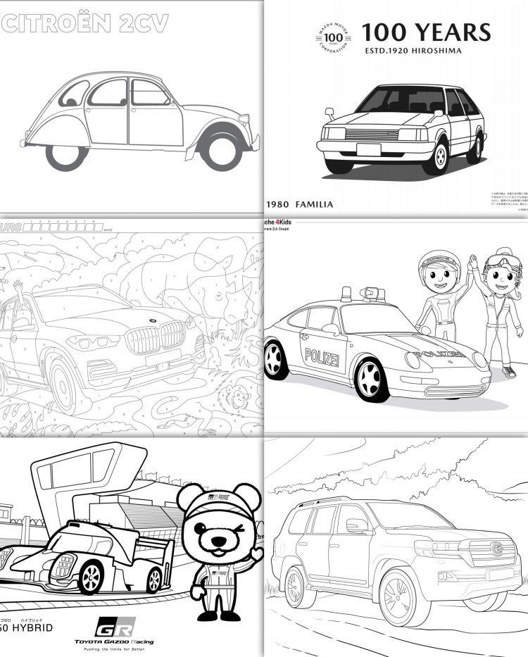 自動車メーカー各社が#STAYHOMEを応援!子ども向けコンテンツが続々公開されています