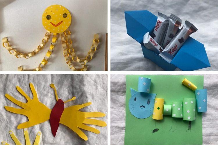 子どもの想像力をフル稼働!画用紙で遊ぼう【子どもとおうち時間対策#5】