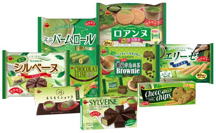 新茶の季節のブルボン「抹茶フェア」!4月14日、全9品を新発売