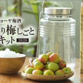 自宅で梅酒や梅シロップを手作り!「チョーヤ おうちで手作り梅しごとキット2020」数量限定でWeb通販受付スタート
