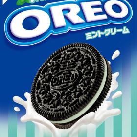 「オレオ」から爽やかなミントフレーバーの「オレオ ミントクリーム」が新登場!