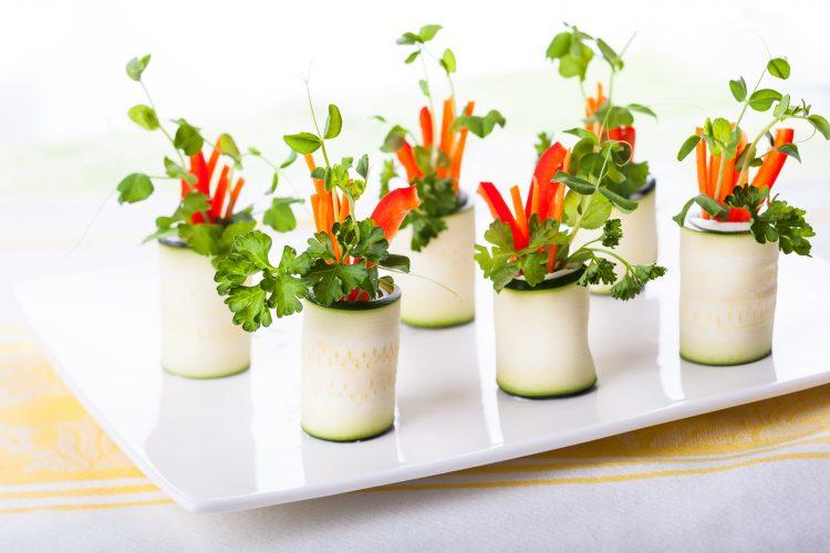 ズッキーニ  サラダ