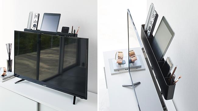 テレビ裏の収納に傘立て。おしゃれで便利な「山崎実業」の収納アイテムが登場