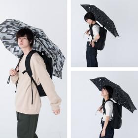バックパックを雨から守る!後ろが長めの傘が 「Wpc.」から登場