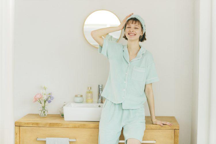 GUからミント成分入りのひんやりパジャマ発売!SABONとのコラボキャンペーンも