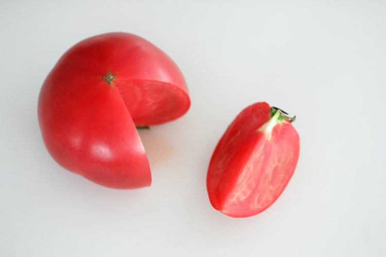 トマト 切り方